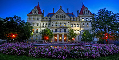 Albany Legislature building