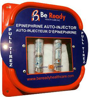 Be Ready Wall-Mounted Auto Injectors