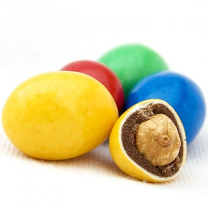 Colorful Chocolate-Covered Peanuts