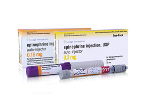 Generic Epinephrine Injector USP packages