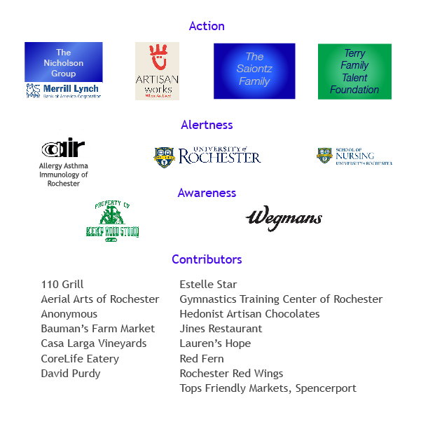 A list of our sponsors and donors.