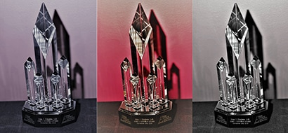 Display of the Gala Awards