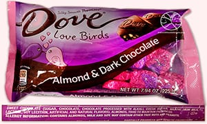 Dove Almond And Dark Chocolate Candy