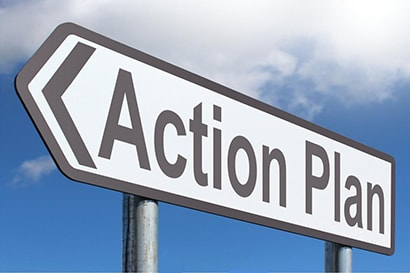 Action Plan sign