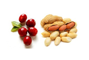 Cranberries and Peanuts
